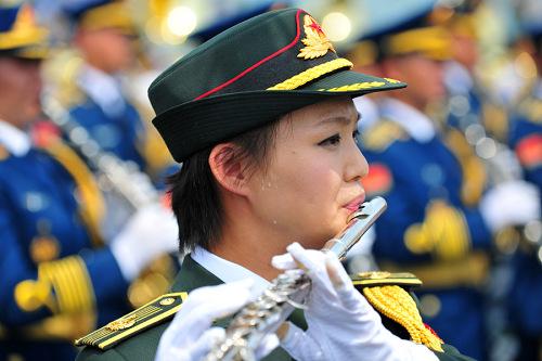 走进2015大阅兵联合军乐团幕后图文回顾